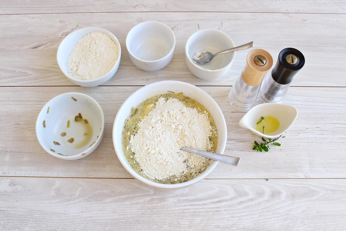 Plumcake salato ai carciofi e formaggio